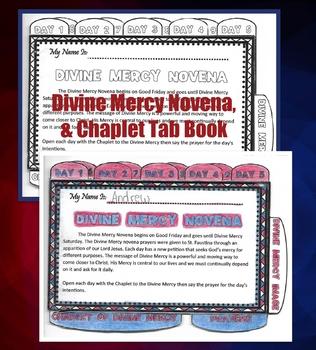 Divine Mercy Tab Book
