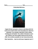 Diving Deep Adventures Common Core Writing Prompt