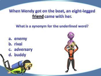 Synonym and Antonym Lesson Freebie