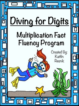 Diving For Digits - Multiplication Facts