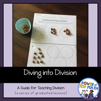 Diving Into Division {A Guide For Teaching Division}