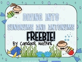 Diving Into Synonyms and Antonyms Freebie!