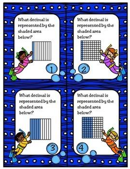 Representing and Comparing Decimals: TEKS 4.2E, 4.2F; CCSS 4.NF.C7