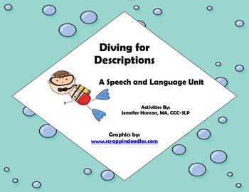Diving for Descriptions