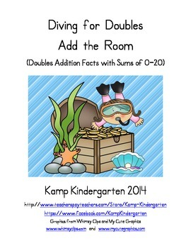 Diving for Doubles Add the Room (Doubles Facts with Sums of 0 to 20)