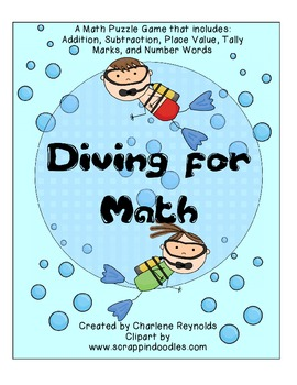 Diving for Math - Addition & Subtraction and More
