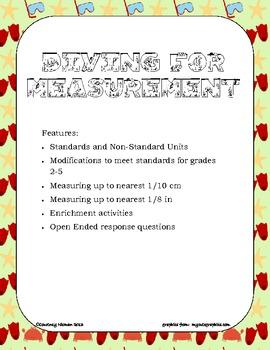 Diving for Measurements Common Core