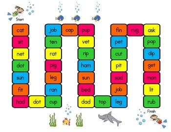 Diving for Short Vowels!