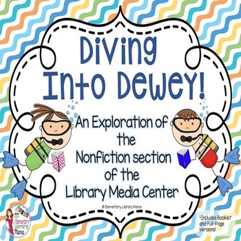 Diving into Dewey!  Explore the Nonfiction Section of the Library!