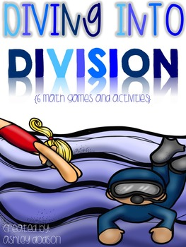 Diving into Division {6 Games and Center Activities}