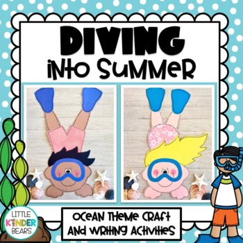 Diving into Summer Kids Craft: End of Year/Ocean