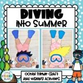 Summer Ocean Diving Kids End of Year or Ocean Craft