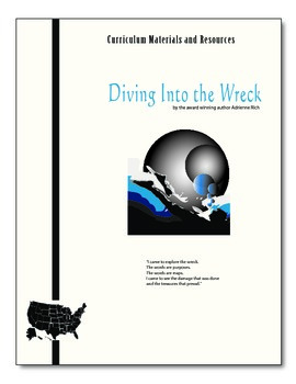 """""""Diving into the Wreck"""" editable, AP Style Passage Test,Essay Prompts,Essay"""