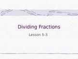 Divings Fractions