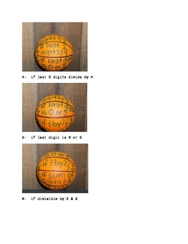 Divisibility Ball