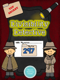 Divisibility Detective:  Divisibility Rules Pack