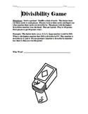 Divisibility Game