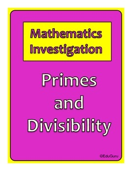 Prime Numbers and Divisibility Investigation