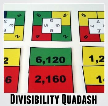 Divisibility Quadash: A Fun Game for Practicing Divisibili