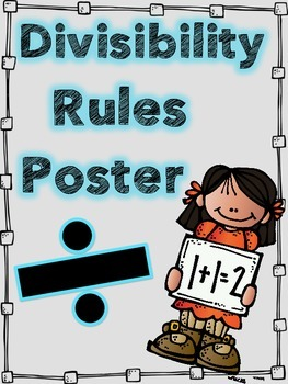 Divisibility Rules!