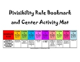 Divisibility Rules Bookmark & Math Center Can be Used For Prime Factorization