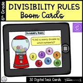 Divisibility Rules Boom Cards Deck 2