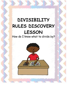 Divisibility Rules Discovery Lesson Plan and Task Cards