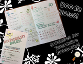 Divisibility Rules - Decorated Notes Brochure for Interactive Notebooks