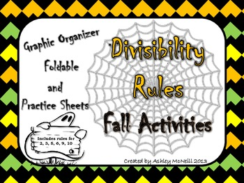 Divisibility Rules Fall Activity