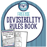 Divisibility Rules Flip Book and Poster