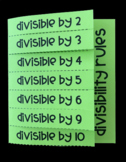 Divisibility Rules (Foldable)