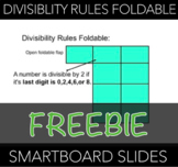 Divisibility Rules Foldable Guide