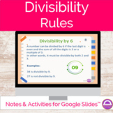 Divisibility Rules Google Slides