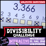 Divisibility Rules Game - Interactive Math Game - Distance