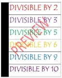 Divisibility Rules Interactive Notebook