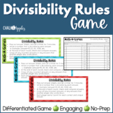 Divisibility Rules Game - MathAGories