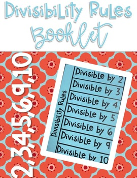 Divisibility Rules Notes