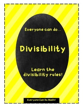 Divisibility Rules: Notes and Practice