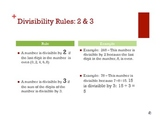 Divisibility Rules - Muscle Math Mania
