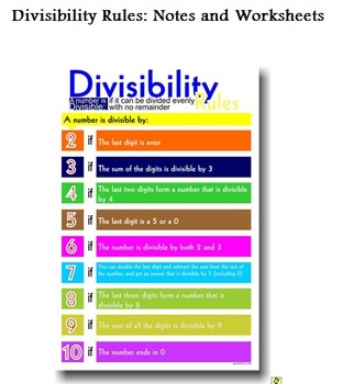 Divisibility Rules Rule!