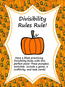 Divisibility Rules Rule! 3 in 1 Bundle for Hands On Learning!