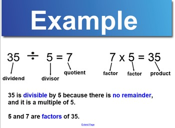 Divisibility Rules Smart Notebook