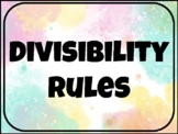 Divisibility  Rules - Worksheet & PPT