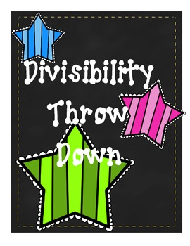 Divisibility Throw Down