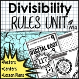 Divisibility Rules Unit