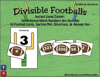 Divisible Footballs