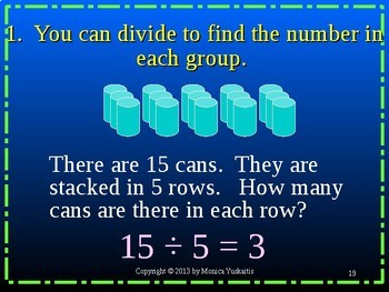 Common Core 3rd - Division 1 - Introduction to Division
