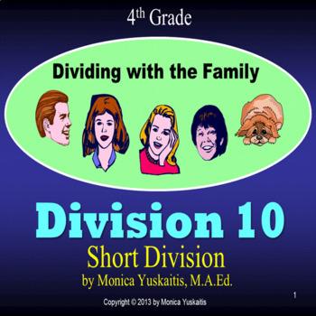 Common Core 4th - Division 10 - Short Division