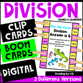 Division Activity: Division Pick, Flip Check Cards