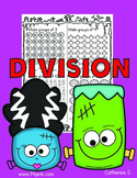 Halloween Division Worksheets